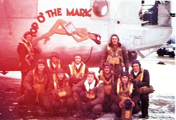 Duke Crew - Assigned 754th Squadron - December 21, 1944